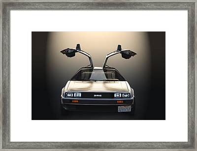 Delorean Motor Company Framed Print by Bill Dutting