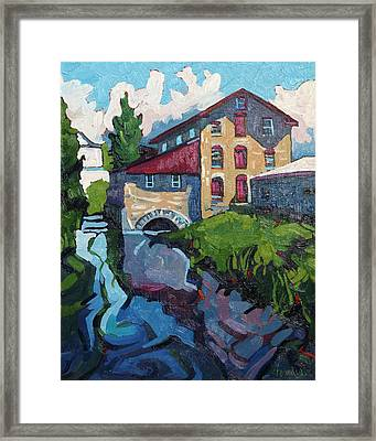Delta Mill Framed Print by Phil Chadwick