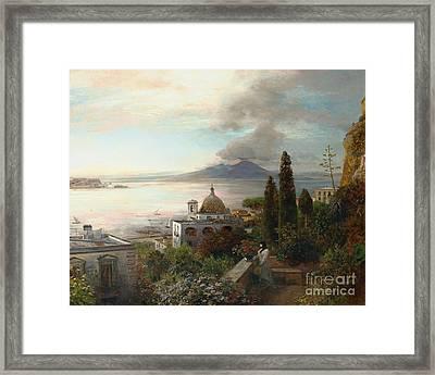 Den Golf Von Neapel Framed Print by MotionAge Designs