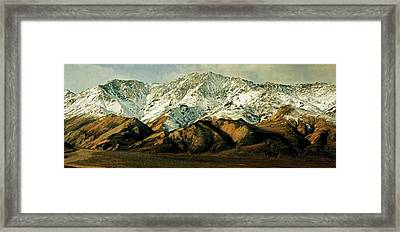 Denali Road 8 Framed Print by Marty Koch