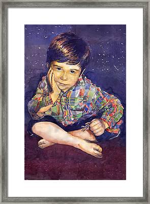 Denis 01 Framed Print by Yuriy  Shevchuk