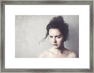 Denise Framed Print by Ilse Noordhof