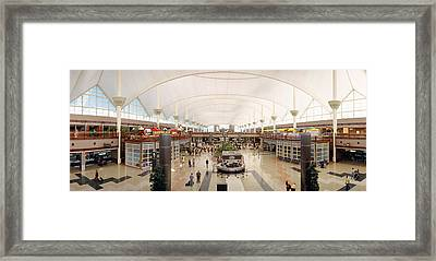 Denver Airport, Colorado Framed Print by Panoramic Images