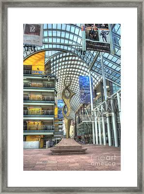 Denver Performing Arts Center Framed Print by Juli Scalzi