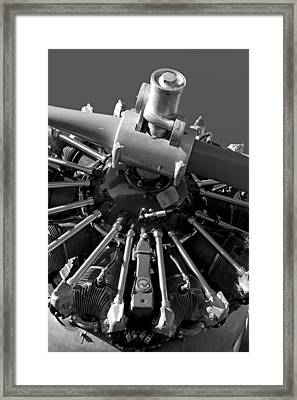 Dependable Engines Framed Print by Rick Pisio