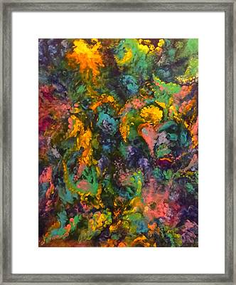 Depth Of Vision Framed Print by Adrienne Martino