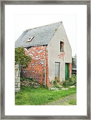 Derelict Hut Framed Print by Tom Gowanlock