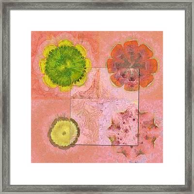 Derelictness Speculation Flower  Id 16165-132801-06601 Framed Print by S Lurk