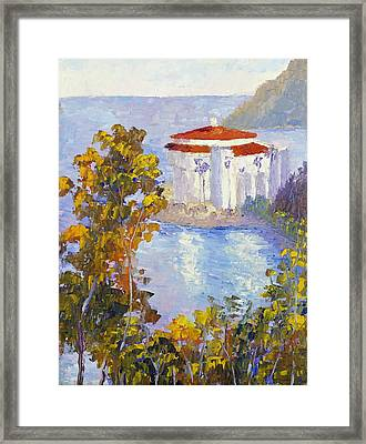 Descanso View Framed Print by Terry  Chacon