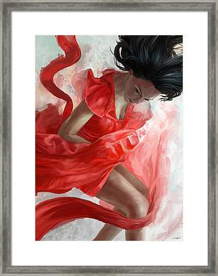Descension Framed Print by Steve Goad