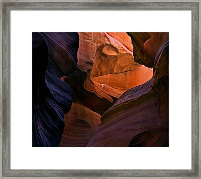 Desert Bridge Framed Print by Mike  Dawson