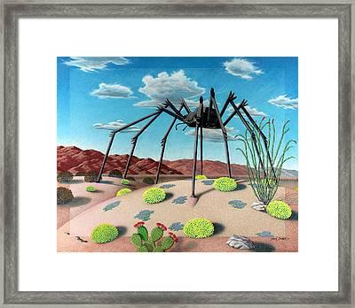 Desert Bug Framed Print by Snake Jagger