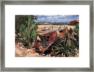 Desert Classic Framed Print by Aidan Moran
