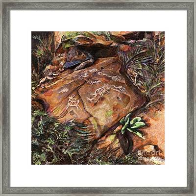 Desert Colors Framed Print by Julianne Black