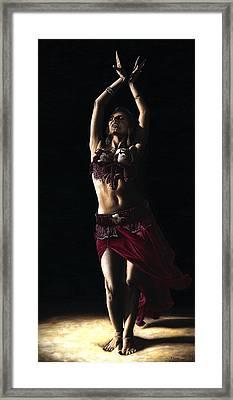 Desert Dancer Framed Print by Richard Young