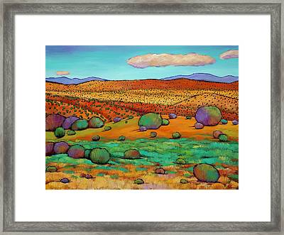 Desert Day Framed Print by Johnathan Harris