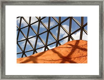 Desert Dome Framed Print by Karen M Scovill