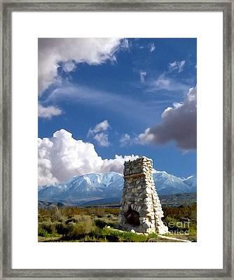 Desert Host Impressions Framed Print by Glenn McCarthy Art and Photography