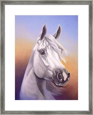 Desert Prince Framed Print by Howard Dubois