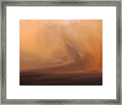 Desert Sky Framed Print by LC Bailey
