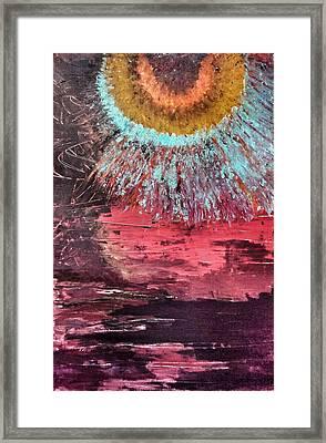Desert Sunset Framed Print by Ryan Adams
