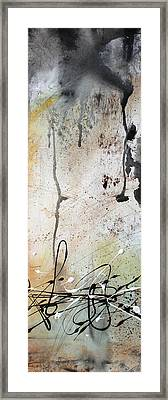 Desert Surroundings 2 By Madart Framed Print by Megan Duncanson