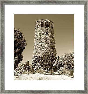 Desert Tower Work Number 2 Framed Print by David Lee Thompson
