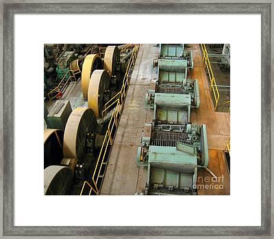 Deserted Factory Framed Print by Yali Shi