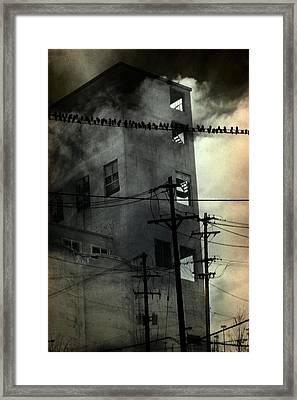 Deserted Framed Print by Gothicolors Donna