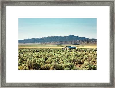 Deserted Framed Print by Todd Klassy