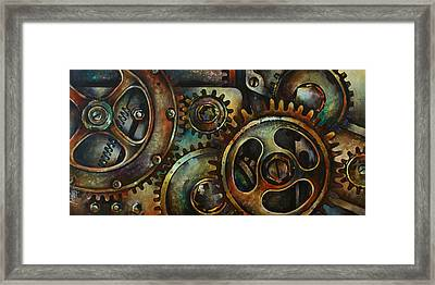 Design 2 Framed Print by Michael Lang