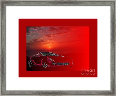 Extraordinary Designer's Dream Ferrari M2 Framed Print by Johannes Murat