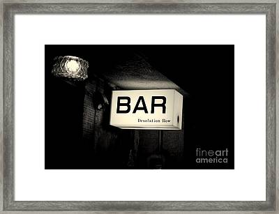 Desolation Row Framed Print by Dean Harte