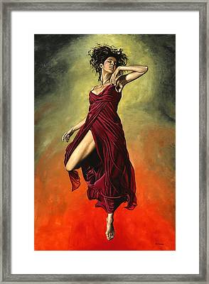Destiny's Dance Framed Print by Richard Young