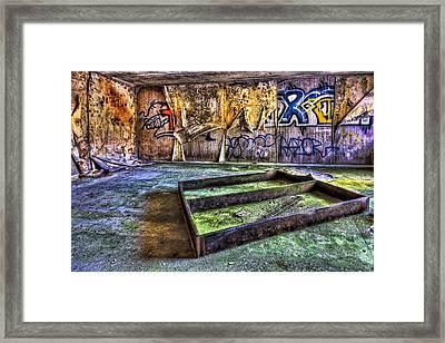Destroya Framed Print by Evelina Kremsdorf