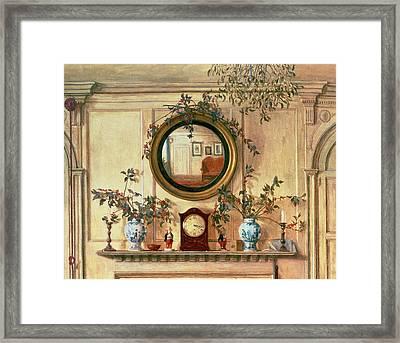 Detail Of Home Sweet Home  Framed Print by Walter Dendy Sadler