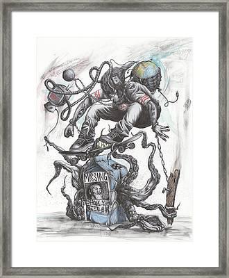 Determination Framed Print by Tai Taeoalii