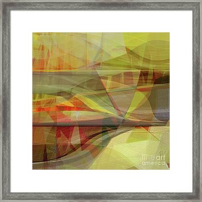 Determine Framed Print by CR Leyland