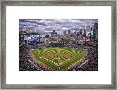 Detroit Tigers Comerica Park 4837 Framed Print by David Haskett