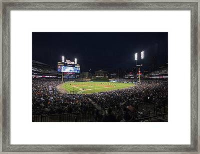 Detroit Tigers Comerica Park Lower Level 1 Framed Print by David Haskett