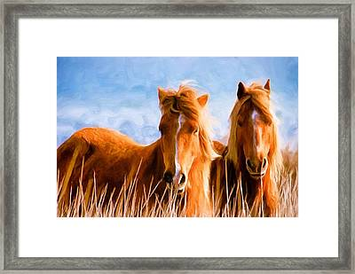 Deuces Wild Framed Print by Steven Richardson