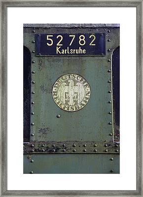 Deutsche Reichsbahn Framed Print by Falko Follert