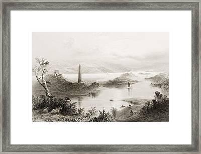 Devenish Island, Loch Erne, County Framed Print by Vintage Design Pics