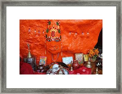 Devi Temple, Nanital Framed Print by Jennifer Mazzucco