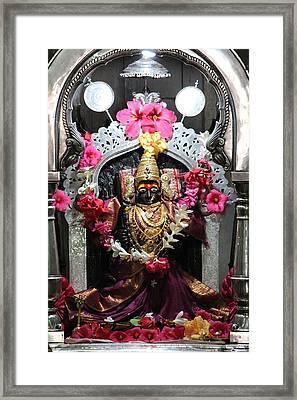 Devi Temple, Near Satara Framed Print by Jennifer Mazzucco