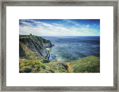 Devil's Slide On Route 1 California #3 Framed Print by Jennifer Rondinelli Reilly