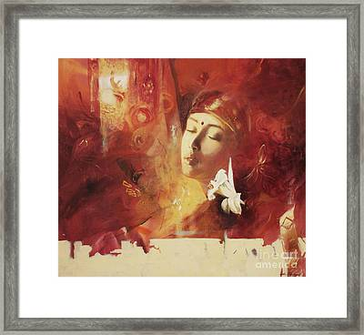 Devoted Framed Print by Lin Petershagen