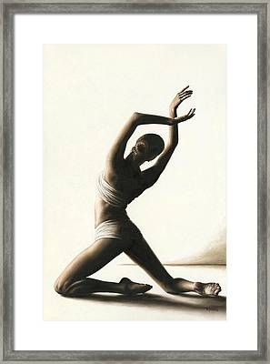 Devotion To Dance Framed Print by Richard Young