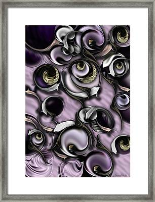 Dialogue With Interfering Reality Framed Print by Carmen Fine Art