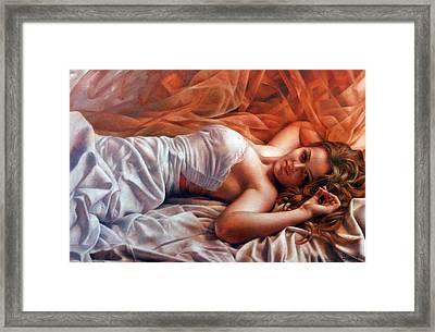 Diana Framed Print by Arthur Braginsky